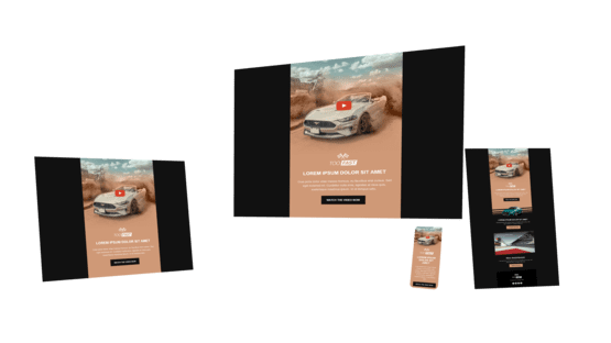 Car - template - Email Marketing - HummingMail - Capoffshore